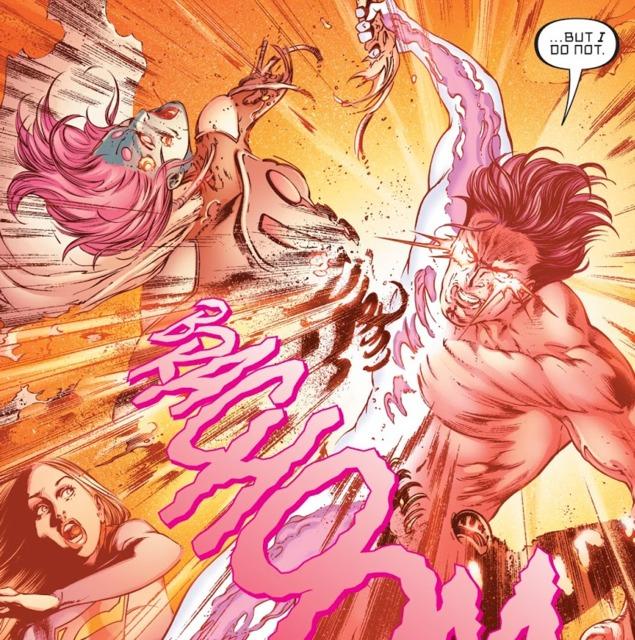 Zor-El kills Indigo