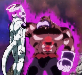 The fear-inducing God of Destruction Toppo