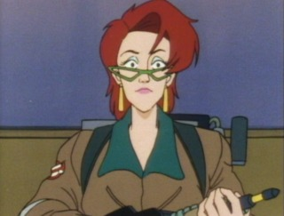 Janine as a Ghostbuster