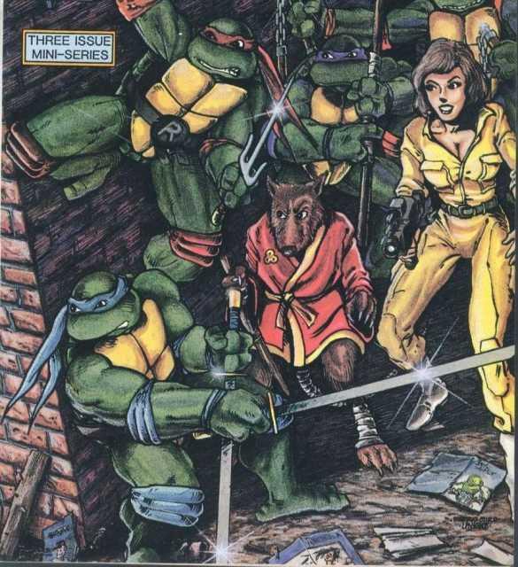 Hamato Yoshi (1988 Archie Comic)