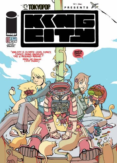 Tokyopop Presents: King City