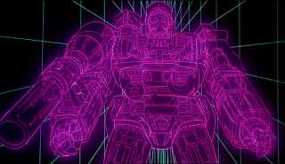 Megatron is reformatted into Galvatron by The Chaos Bringer