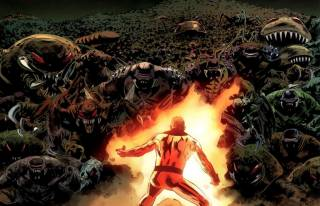 Fantastic Four 587 - the death of Johnny Storm