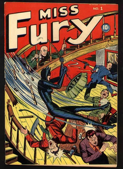 Miss Fury Comics