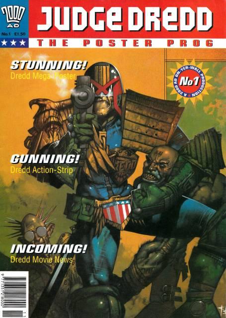 Judge Dredd: The Poster Prog