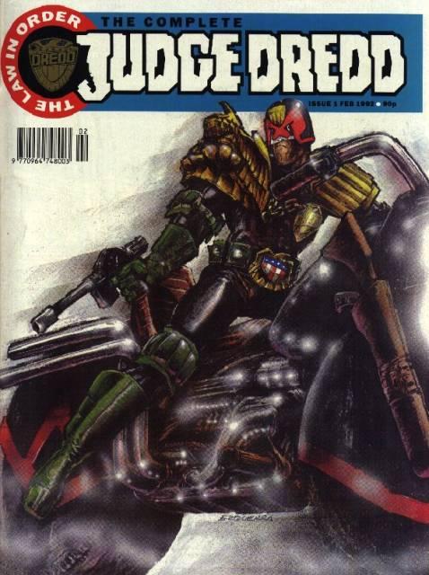 The Complete Judge Dredd