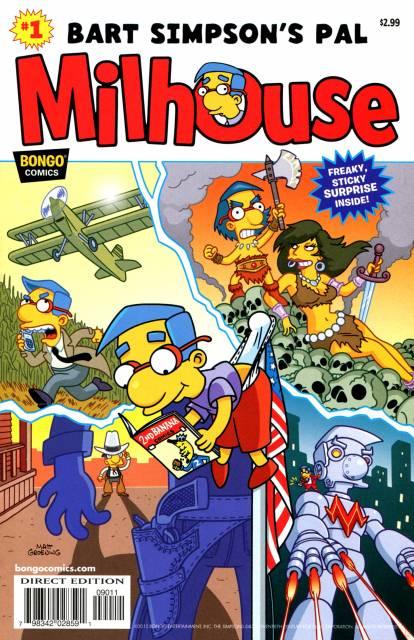 Simpsons One-Shot Wonders: Bart Simpson's Pal Milhouse