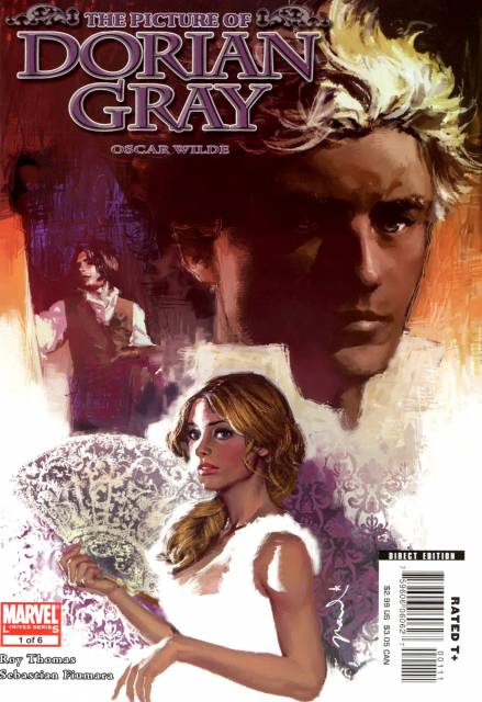 Marvel Illustrated: The Picture Of Dorian Gray