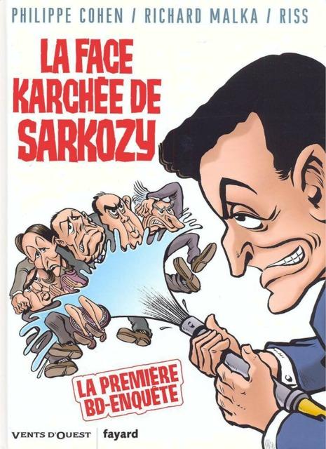 La Face Karchée de Sarkozy
