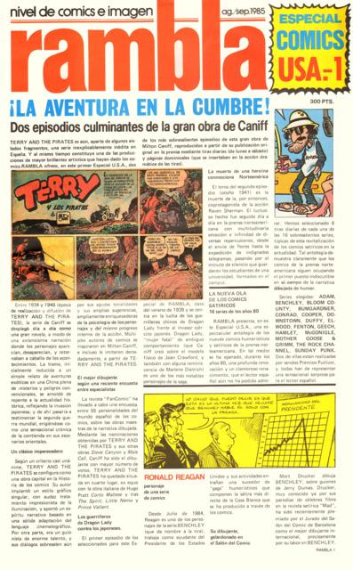 Rambla Especial Comics USA