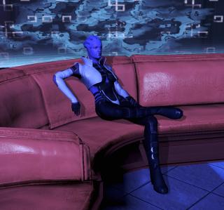 Aria in the Purgatory Nightclub on the Citadel