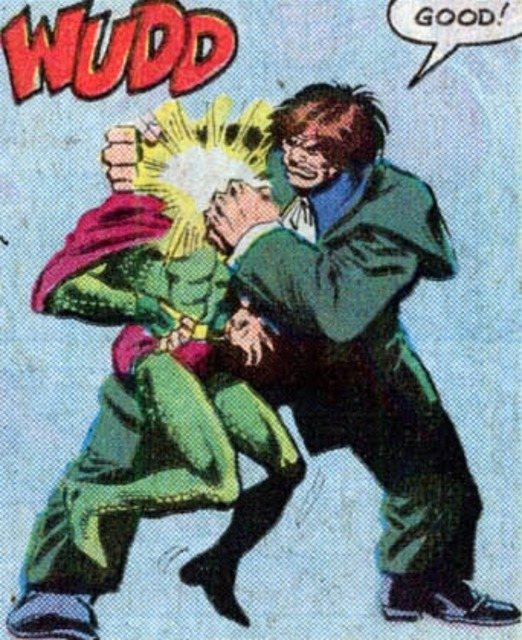 Mr. Hyde knocking Cobra out
