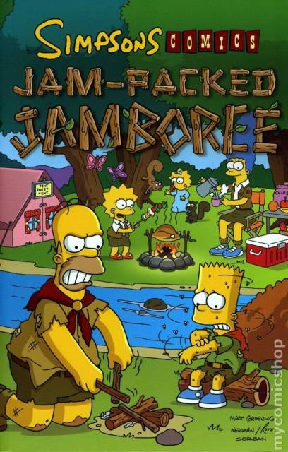 Simpsons Comics: Jam-Packed Jamboree