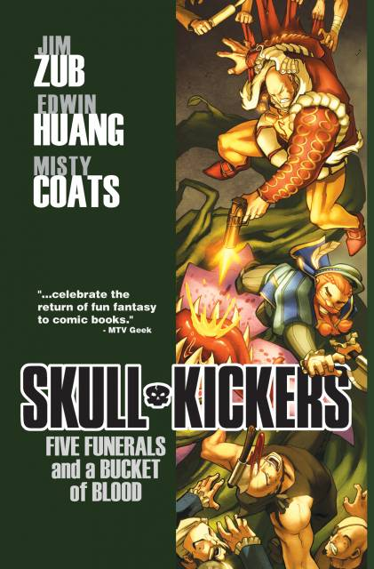 Skullkickers: Five Funerals and a Bucket of Blood