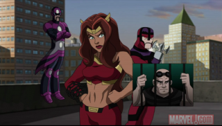 Frightful Four In Ultimate Spider-Man