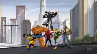 New Avengers in the animated series