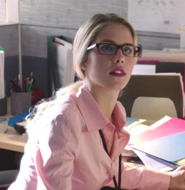 Felicity as she appears on Arrow