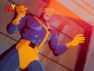 Cyclops in the 90's show