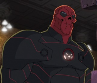 Red Skull in his armor
