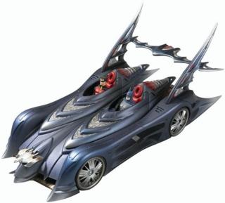 A Batmobile by Mattel
