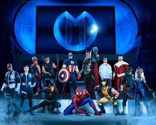The cast of Marvel Universe LIVE