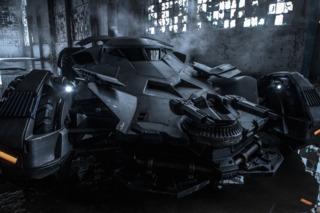The Batman v. Superman Batmobile.