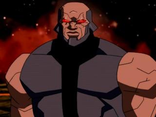 Darkseid's cameo in the finale