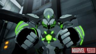 Hammer as Titanium Man
