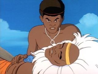 T'Chaka's death
