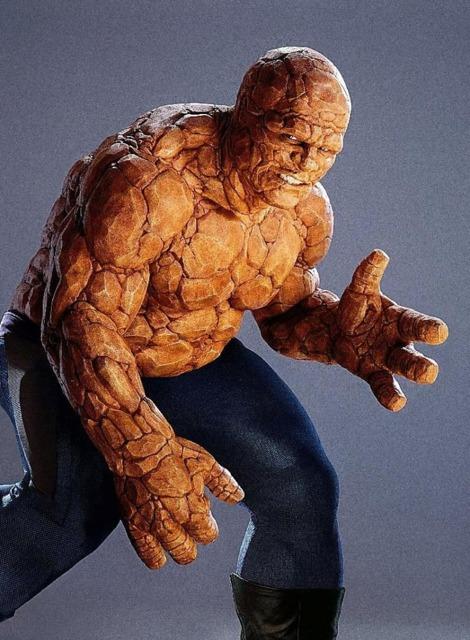 Michael Chiklis as The Thing