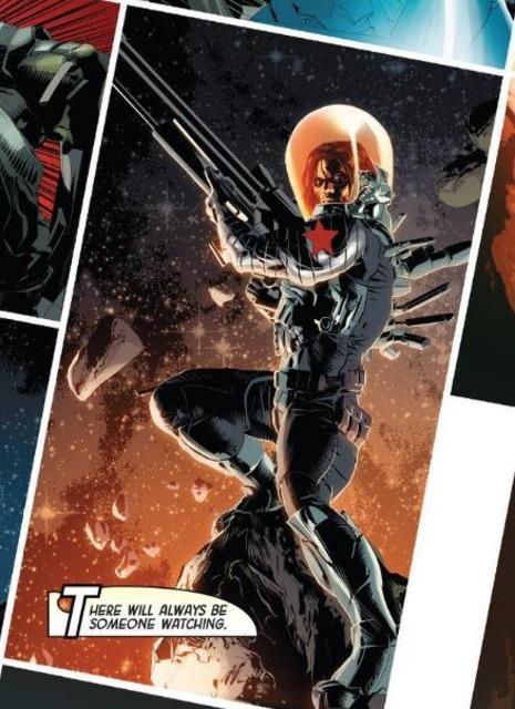 Bucky Barnes: Cosmic Assassin