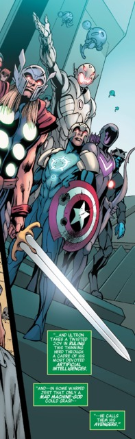 Ultron and his Avengers