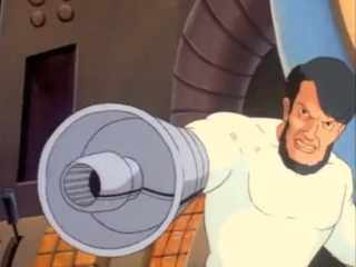 Klaw in the animated series