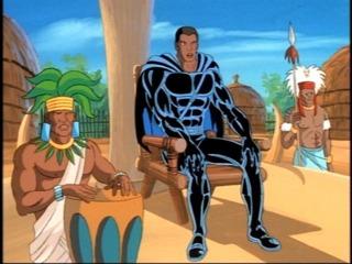 Wakanda in the FF animated series