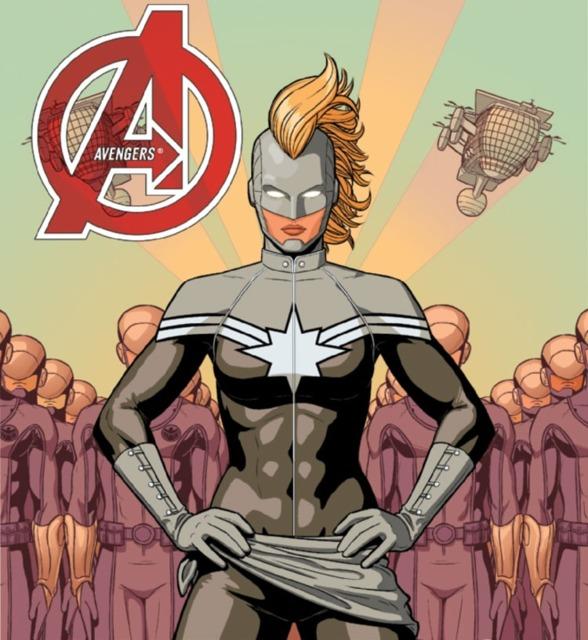 Captain Marvel's SHIELD uniform