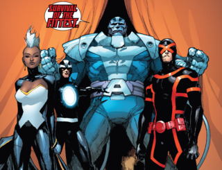 Havok with the other Inverted mutants