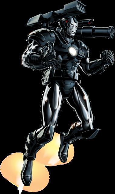 War Machine in his classic armor
