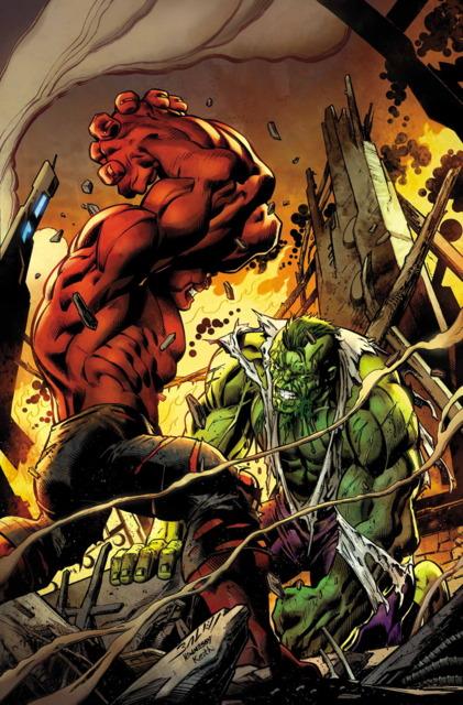 Red Hulk vs. Doc Green