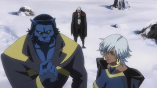 Beast in the anime