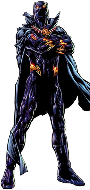 Black Panther's Marvel Knights look
