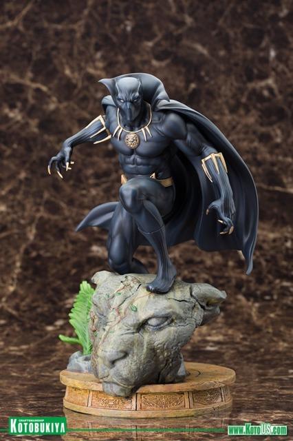 Kotobukiya's Black Panther statue