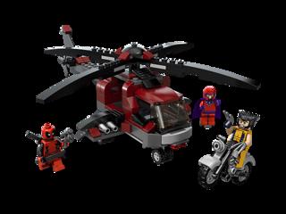 The Wolverine Chopper Showdown kit