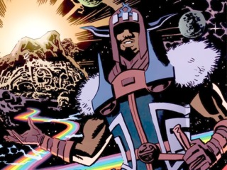 Heimdall in The Mighty Avenger