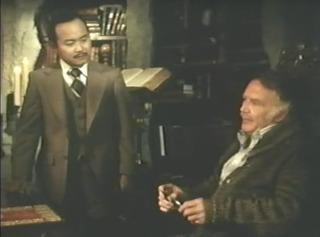 Clyde Kusatsu (left) as Wong