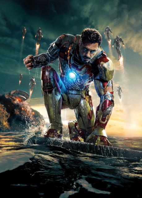 Tony in Iron Man 3