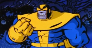 Thanos in the Silver Surfer animated series.