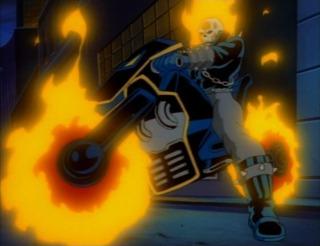 Animated Ghost Rider