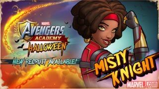 Misty Knight in Avengers Academy
