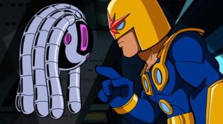 Nova in Super Hero Squad