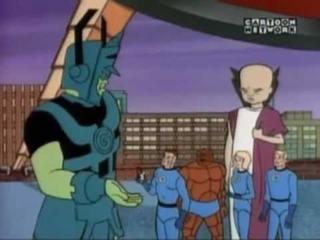 Galactus' animated debut